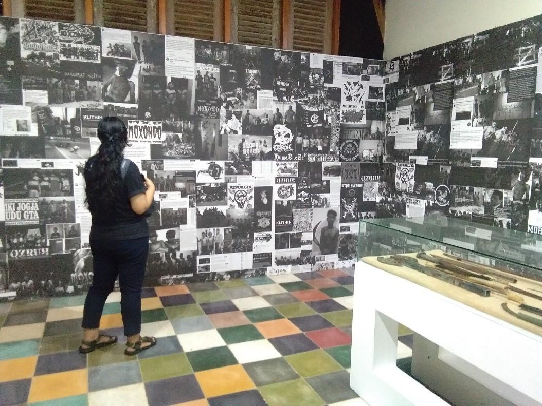 Dokumentasi Menitih Klitih di Museum Ruang yang Hilang